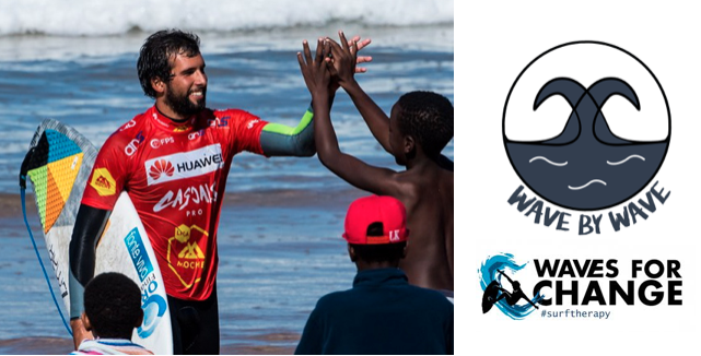 Wave by Wave: José Ferreira e vencedor do Laureus Awards juntam surf e intervenção social