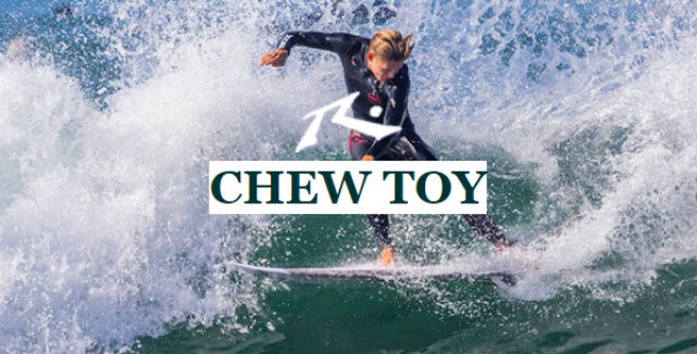 Top 10 de Best-Sellers de 2017: #5 Chew Toy da Rusty Surfboards