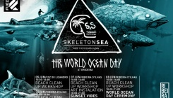Skeleton Sea promove o World Ocean Day na Ericeira